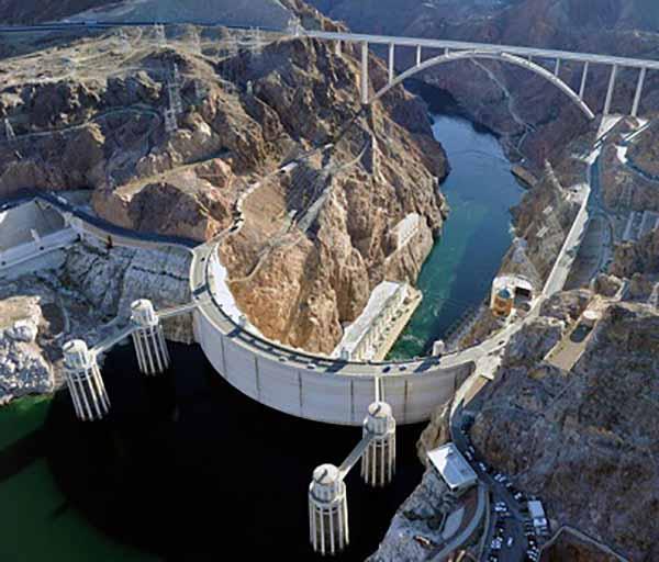 Плотина Гувера и дублирующий мост