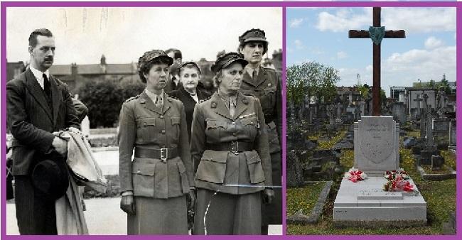 Похороны и могила Кристины Скарбек