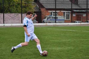 Денис Мацуев любит футбол