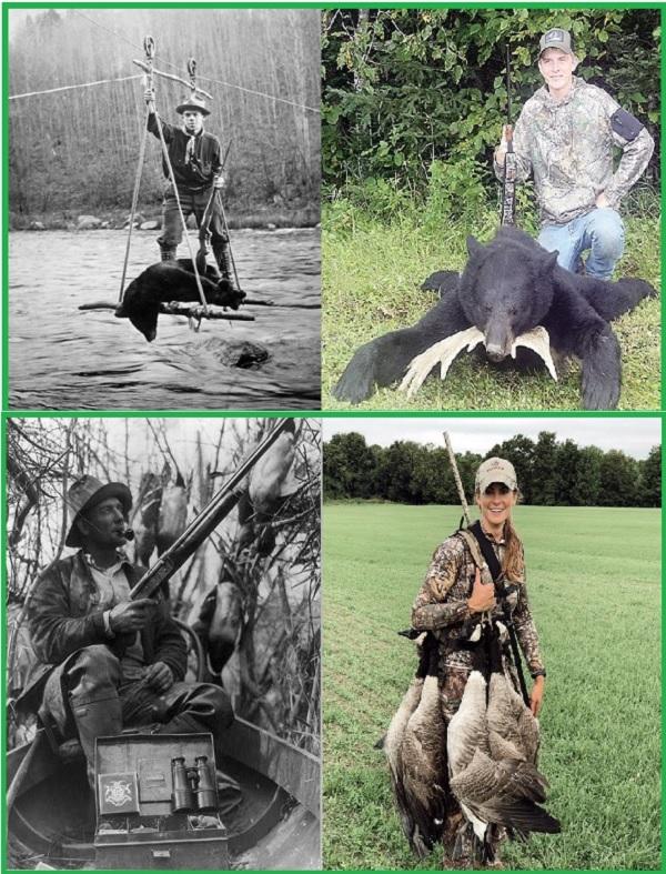 Охотники 1920-2020 годы