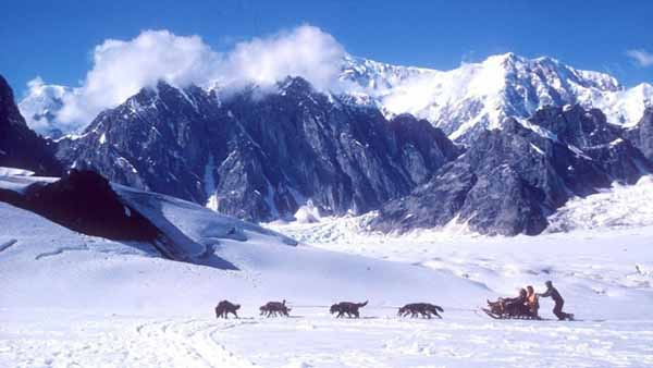 Снежная красота Аляски