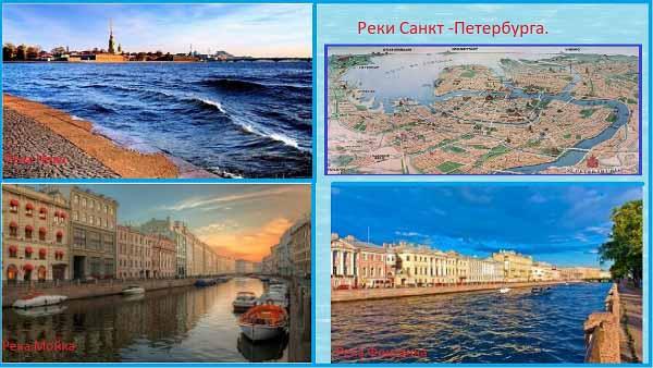 Реки Санкт-Петербурга