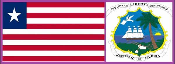 Флаг и герб Либерии