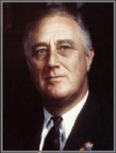 Президент Франклин Делано Рузвельт