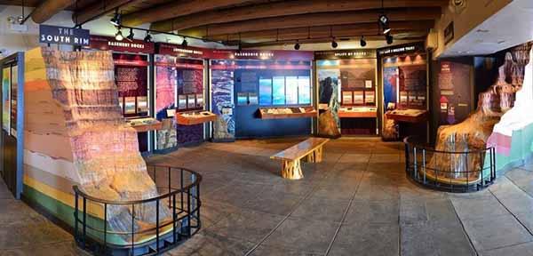 Экспозиция Музея геологии Явапаи