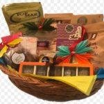 Корзиночка с подарками, для Мишлоах Манот, в Пурим