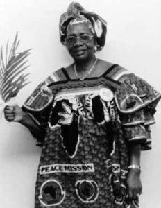 Рут Перри - борец за мир в Либерии