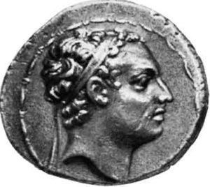 Антиох IV Епифан на Тетрадрахме