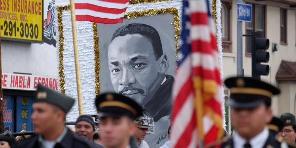 Празднование Дня Мартина Лютера Кинга