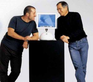 Джонатан Айв Стив Джобс и iMac G4
