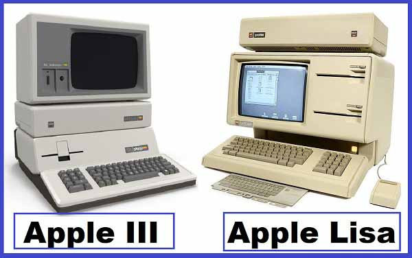 Apple III Apple Lisa